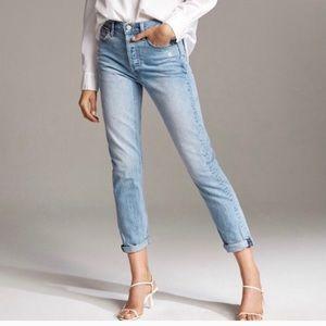 DENIM FORUM Ex Boyfriend jeans | 28 blue